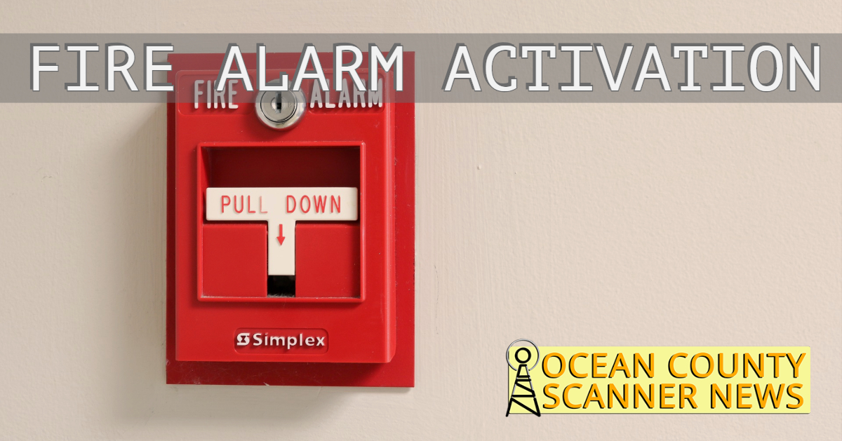 FREEHOLD: Activated Fire Alarm