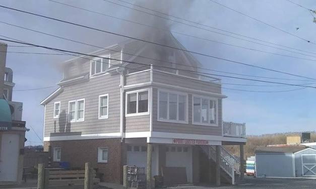 PP BEACH: Structure Fire Update