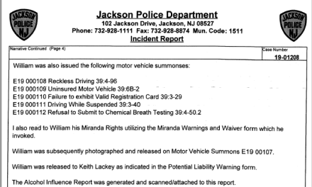 JACKSON: 6 DWI/DUI Arrests for January
