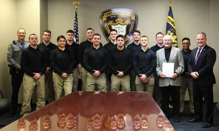 TRPD Welcomes New Class 1 Officers!
