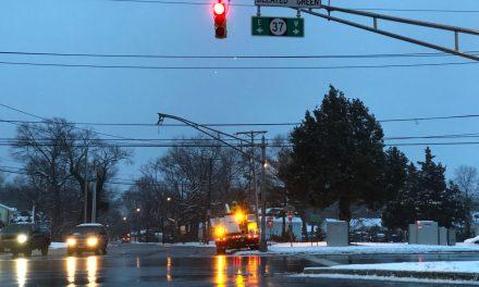 TR: NJ 37 @ Vaughn- Traffic Signal Taken Down