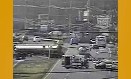 MARLBORO: Oil Tanker Crash Closes Route 9