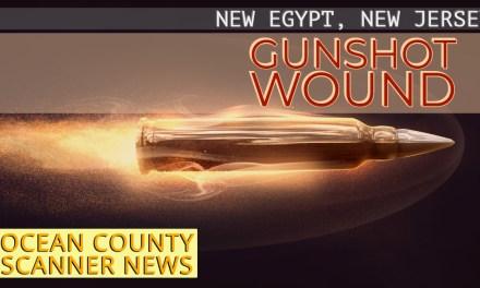 NEW EGYPT: Gunshot Wound (GSW)