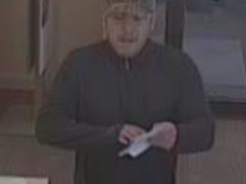STAFFORD:  Police Seek Bank Robbery Suspect