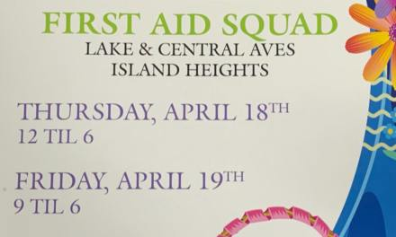 ISLAND HEIGHTS: First Aid Flower Sale
