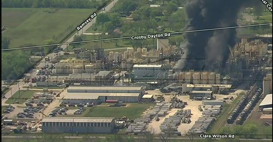 CROSBY TEXAS: KMCO Chemical Plant Explosion – Multiple Injuries, One Fatality