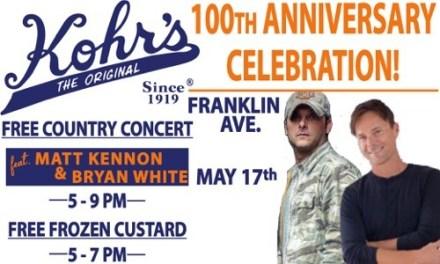 SSH: Kohr's Frozen Custard, The Original Celebrates 100 Years in Business!