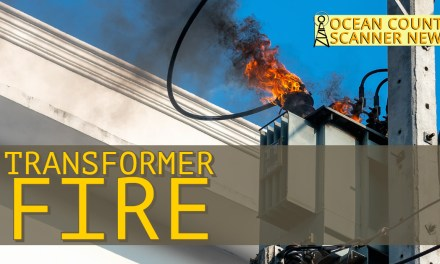 TOMS RIVER: Transformer Fire
