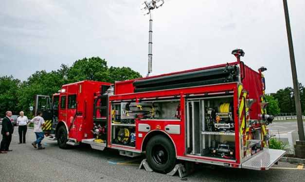 MANCHESTER: New Whiting Fire Truck Starts Service