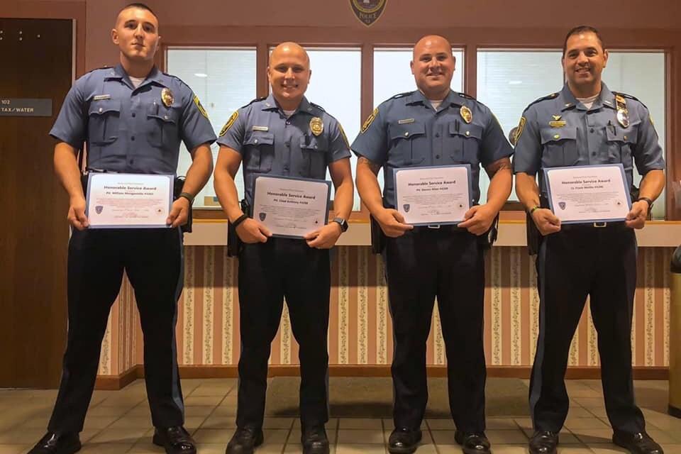BEACHWOOD: Police Department Awards Ceremony   Ocean County