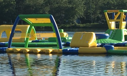 LACEY: Inflatable Waterpark on the Lake!