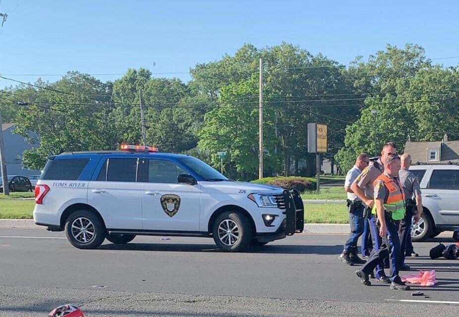 TR: NJ 37 @ River- Fatal Motorcycle Crash | Ocean County