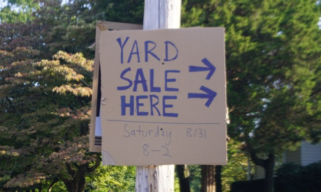 TOMS RIVER: Yard Sale