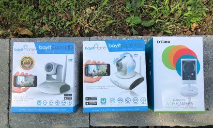 FOR SALE: Wired & Wireless Surveillance Cameras