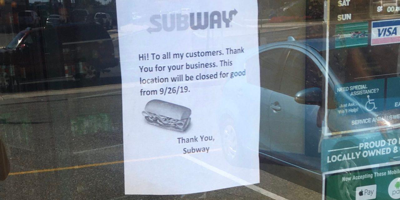 TOMS RIVER: Last Subway to Close