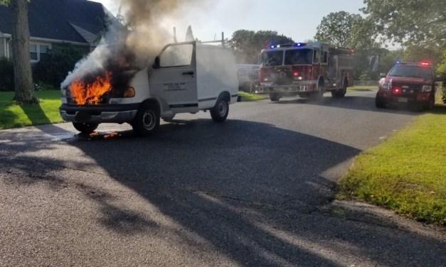 BEACHWOOD: Update to Earlier Vehicle Fire