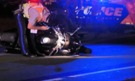 TR: Man Hospitalized After Being Ejected From Motorcycle