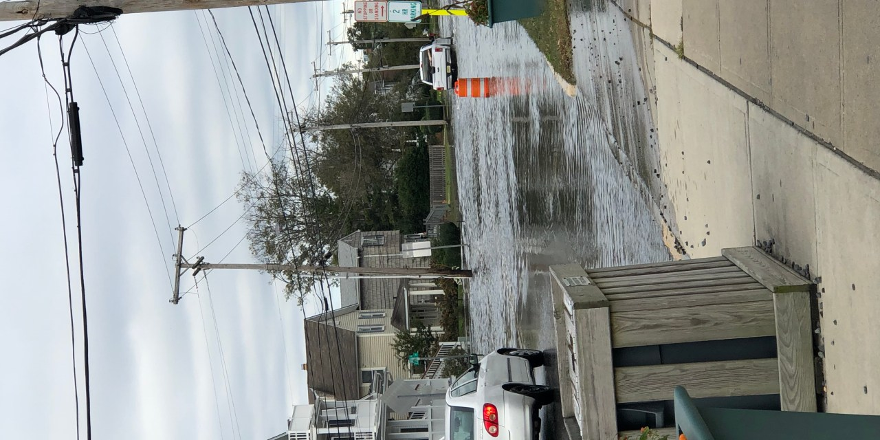 BAY HEAD: Flooding