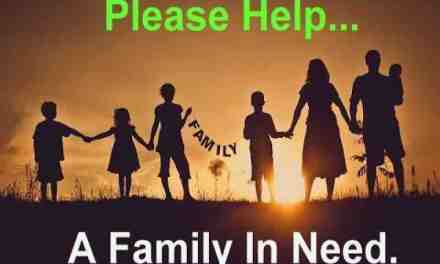 Please help a family in need during this Holiday Season