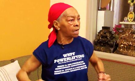 82 year old Female Body Builder says home intruder picked the wrong house