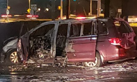 Toms River: Fully Involved Vehicle Fire