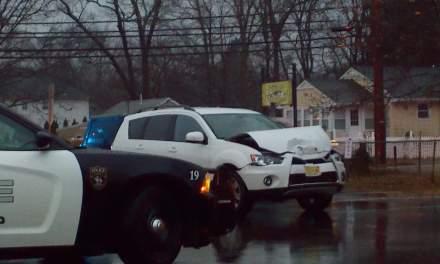 Brick: MVA infront of Osbornville Elementary School