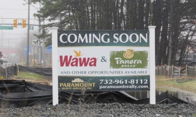 BRICK: Construction Slows on Wawa