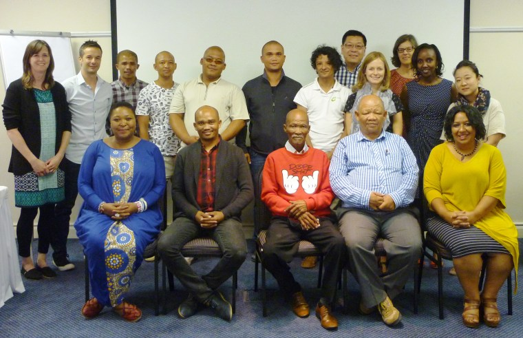 Participants at the Contracting Justice Workshop (Photo credit: Cath Traynor/Natural Justice)