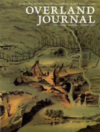 Overland Journal Volume 35 Number 1 Spring 2017