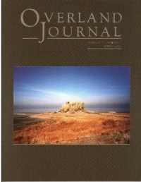 Overland Journal Volume 23 Number 1 Spring 2005