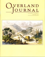 Overland Journal Volume 24 Number 4 Winter 2006