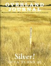 Overland Journal Volume 25 Number 2 Summer 2007