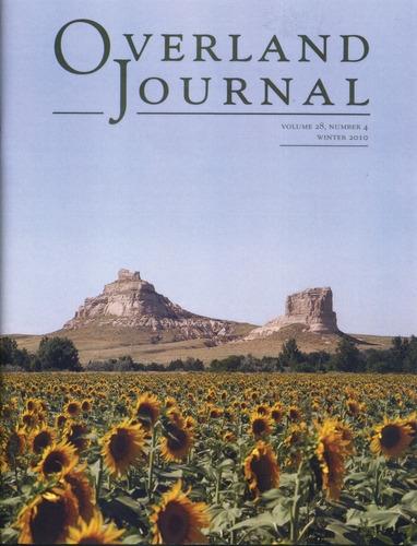 Overland Journal Volume 28 Number 4 Winter 2010