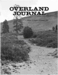 Overland Journal Volume 17 Number 2 Summer 1999