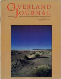 Overland Journal Volume 19 Number 4 Winter 2001/2002