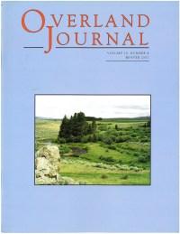 Overland Journal Volume 20 No. 4