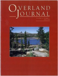Overland Journal Volume 22 Number 3 Fall 2004