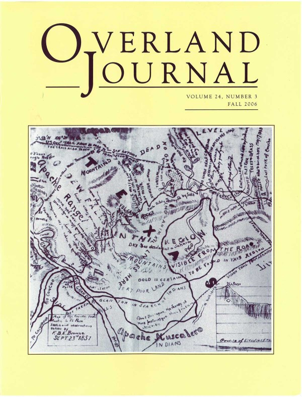 Overland Journal Volume 24 Number 3 Fall 2006