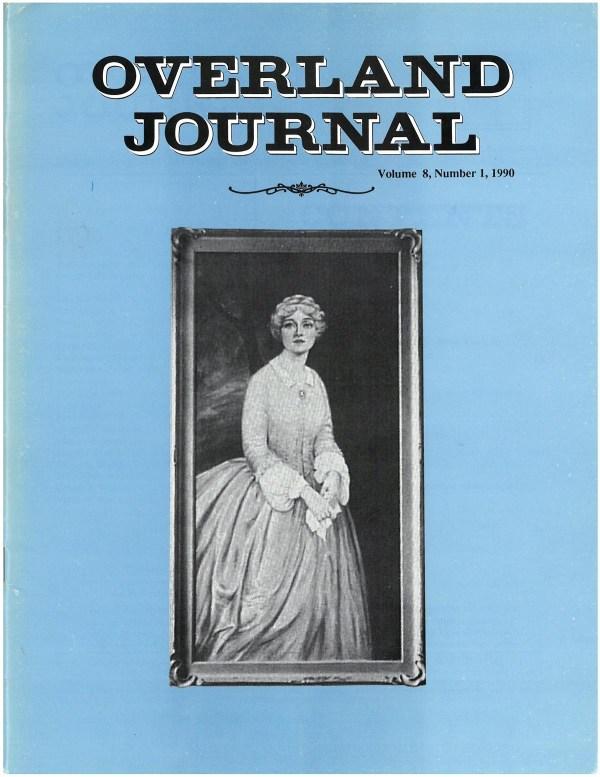 Overland Journal Volume 8 Number 1 1990