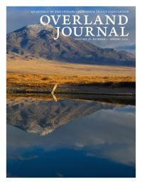 Cover of Overland Journal Spring 2020