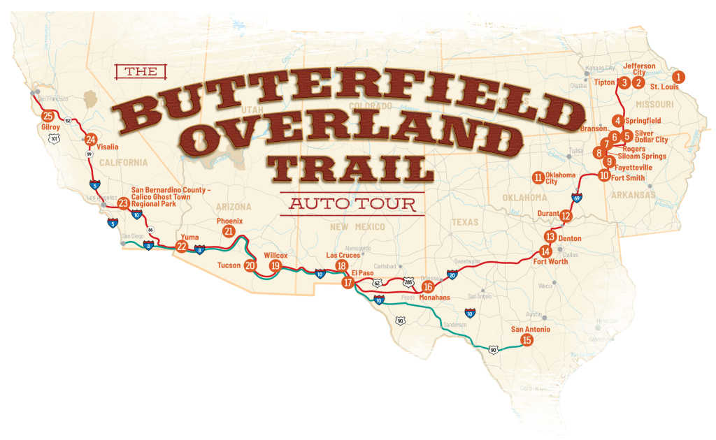 Butterfield Overland Trail Auto Tour
