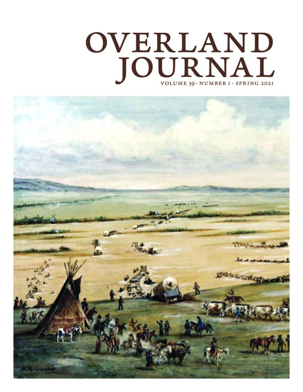 Cover of the Spring 2021 Overland Journal