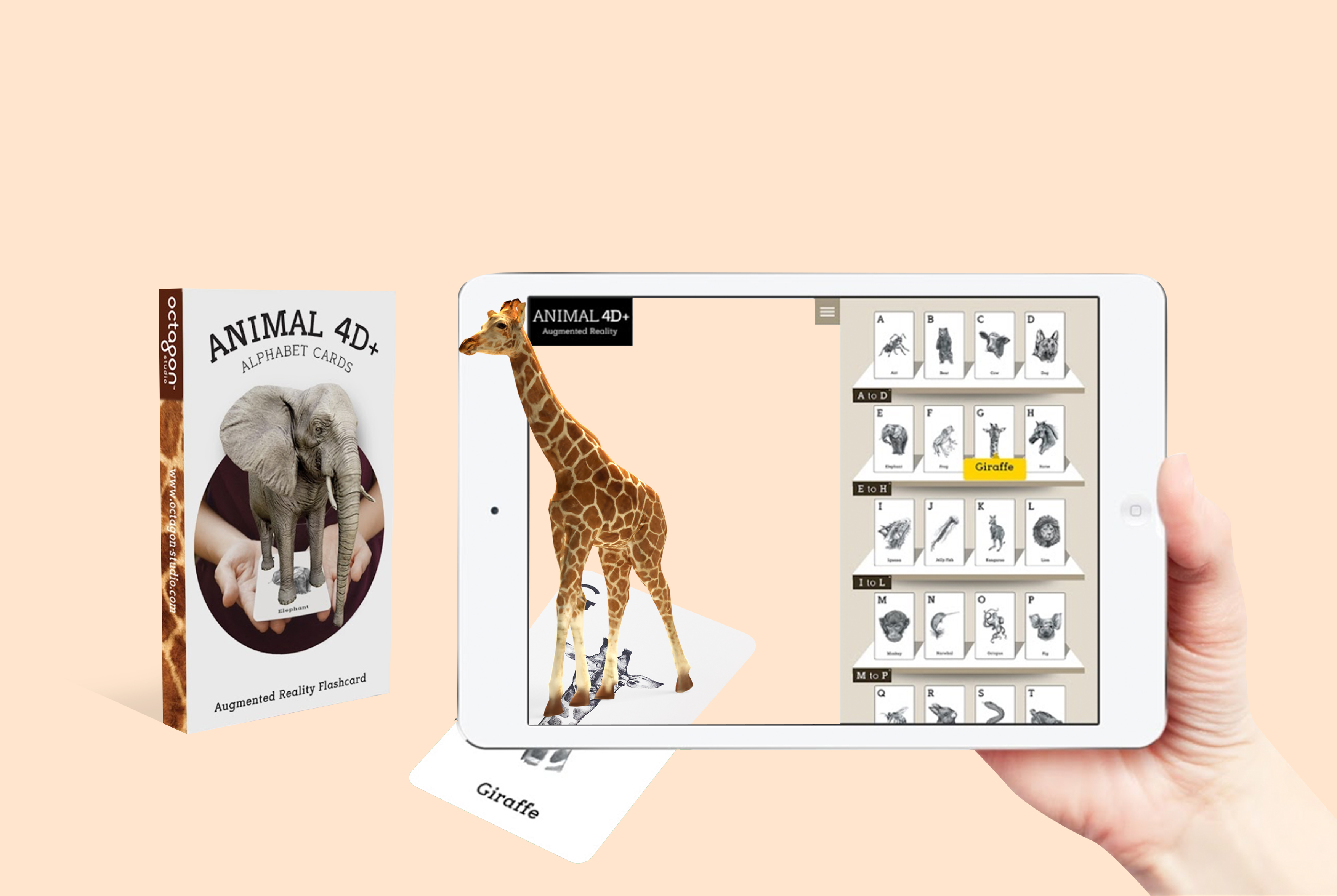 Octagon Studio Launched Animal 4D+ App! |By Octagon Studio