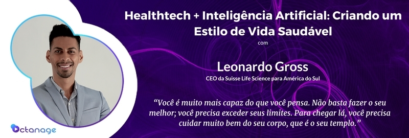 E018 Leonardo Gross - Suisse Life Science - São Paulo Londres - Octanage PodCast