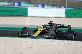 World © Octane Photographic Ltd. Formula 1 – F1 Portuguese GP, Practice 1. Renault Sport F1 Team RS20 – Daniel Ricciardo. Autodromo do Algarve, Portimao, Portugal. Friday 23rd October 2020.