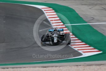 World © Octane Photographic Ltd. Formula 1 – F1 Portuguese GP, Practice 1. Mercedes AMG Petronas F1 W11 EQ Performance - Lewis Hamilton. Autodromo do Algarve, Portimao, Portugal. Friday 23rd October 2020.