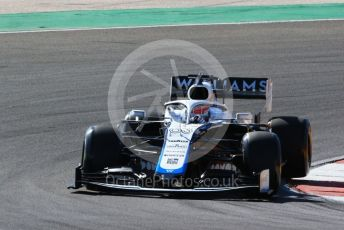 World © Octane Photographic Ltd. Formula 1 – F1 Portuguese GP, Practice 2. Williams Racing FW 43 – George Russell. Autodromo do Algarve, Portimao, Portugal. Friday 23rd October 2020.