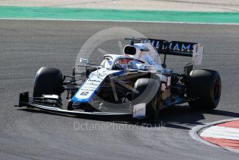 World © Octane Photographic Ltd. Formula 1 – F1 Portuguese GP, Practice 2. Williams Racing FW 43 – George Russell. Autodromo do Algarve, Portimao, Portugal. Friday 23rd October 2020.