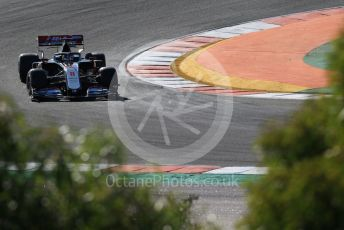 World © Octane Photographic Ltd. Formula 1 – F1 Portuguese GP, Practice 2. Haas F1 Team VF20 – Romain Grosjean. Autodromo do Algarve, Portimao, Portugal. Friday 23rd October 2020.