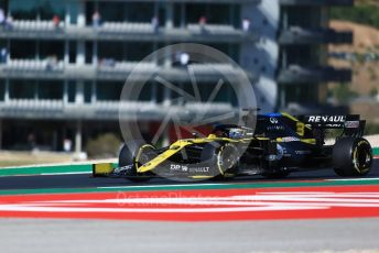 World © Octane Photographic Ltd. Formula 1 – F1 Portuguese GP, Practice 3. Renault Sport F1 Team RS20 – Daniel Ricciardo. Autodromo do Algarve, Portimao, Portugal. Saturday 24th October 2020.